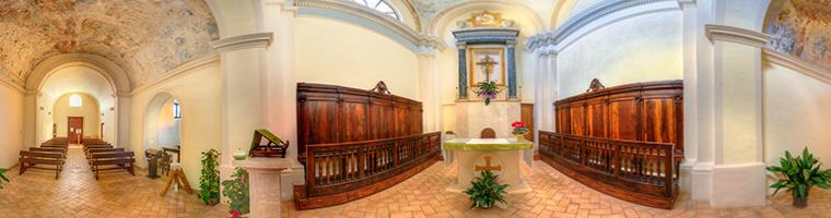 chiesa del crocifisso tolfa