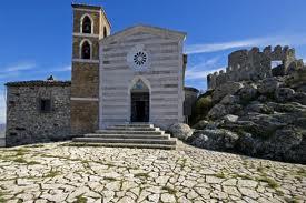 santuario della madonna della rocca tolfa